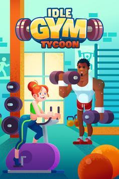 Idle Fitness Gym Tycoon скриншот 1