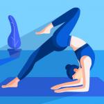 Йога поза для начинающих