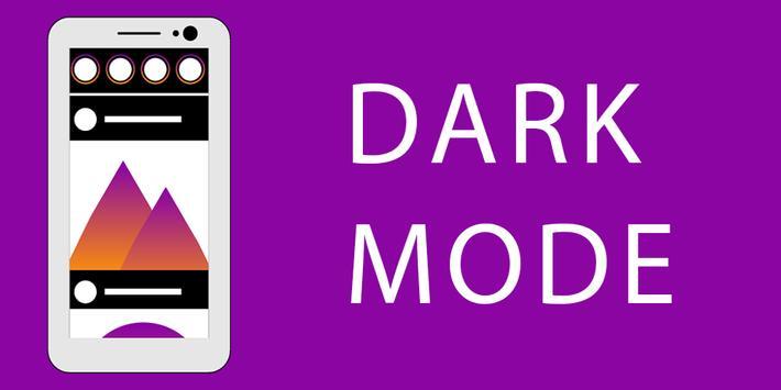 Dark Mode Theme for Instagram скриншот 1