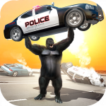 Monster Gorilla Rampage Apes Family Simulator