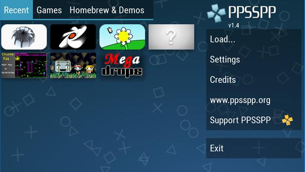 PPSSPP скриншот 1