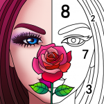 Art Coloring - Coloring Book & Color By Number