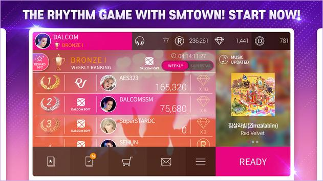 SuperStar SMTOWN скриншот 2