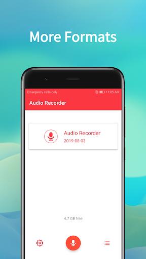 Audio Recorder скриншот 3