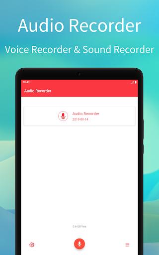 Audio Recorder скриншот 4