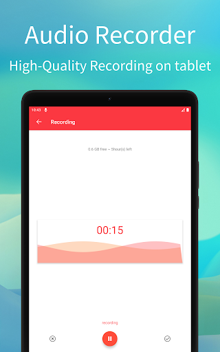 Audio Recorder скриншот 5