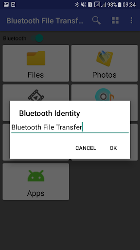 Bluetooth File Transfer скриншот 3