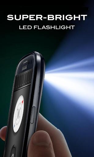 Сверхъяркий фонарик скриншот 1