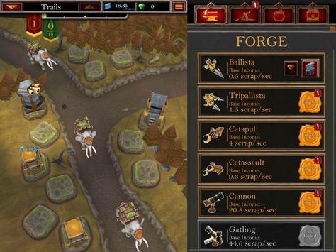Castle Fusion Idle Clicker скриншот 4