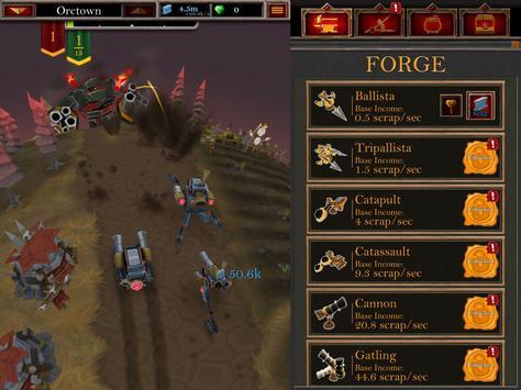 Castle Fusion Idle Clicker скриншот 5
