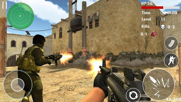 Борьба терроризма стрельба FPS скриншот 2