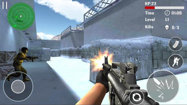 Борьба терроризма стрельба FPS скриншот 3