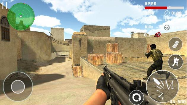 Борьба терроризма стрельба FPS скриншот 4