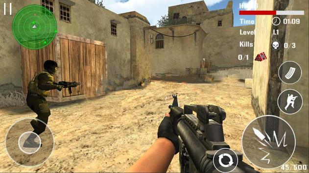 Борьба терроризма стрельба FPS скриншот 5