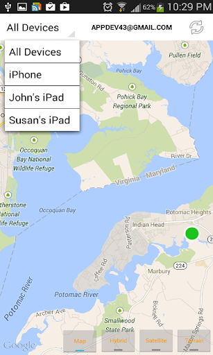 Find iPhone, Android Devices, xfi Locator Lite скриншот 2