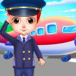 Airport Manager Flying Girls Aeroplane kids Game