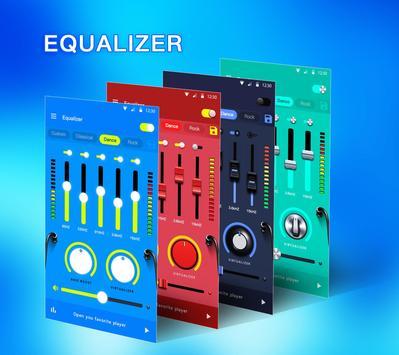 Эквалайзер - усилитель басов и усилитель громкости скриншот 1