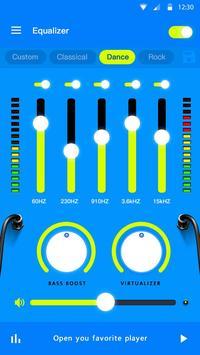 Эквалайзер - усилитель басов и усилитель громкости скриншот 3