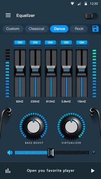 Эквалайзер - усилитель басов и усилитель громкости скриншот 4