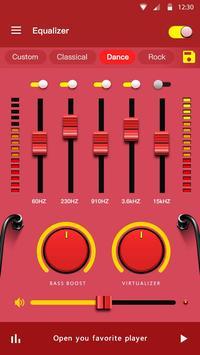Эквалайзер - усилитель басов и усилитель громкости скриншот 5