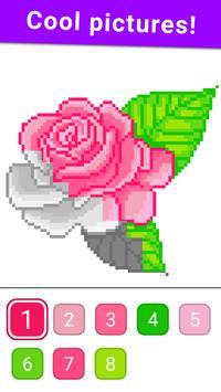 Раскраска по цифрам по клеточкам по номерам скриншот 5