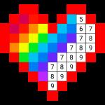 Раскраска по цифрам по клеточкам по номерам