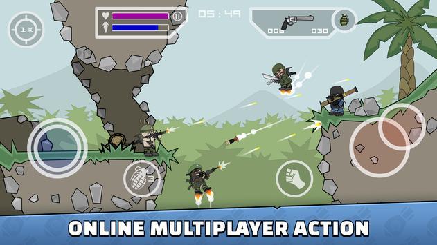 Mini Militia - Doodle Army 2 скриншот 1