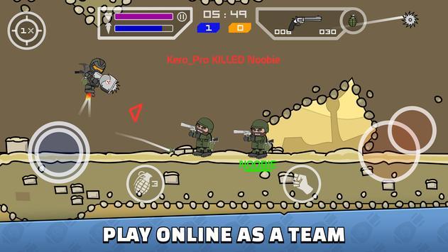 Mini Militia - Doodle Army 2 скриншот 2