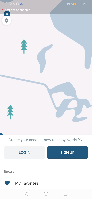 NordVPN скриншот 2