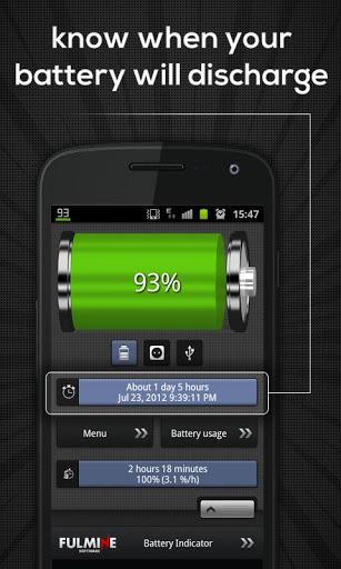 Индикатор Заряда Батареи скриншот 1