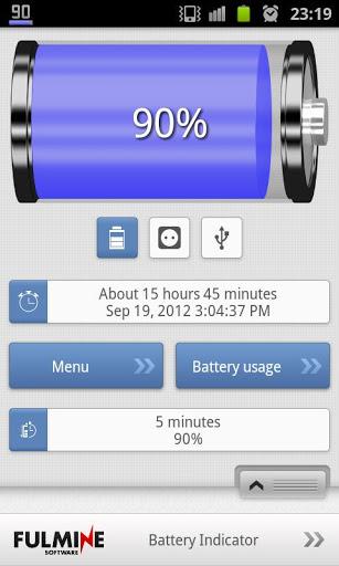 Индикатор Заряда Батареи скриншот 5