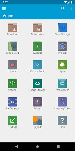 FX File Explorer скриншот 1