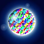 Красочные дискотек фонарик