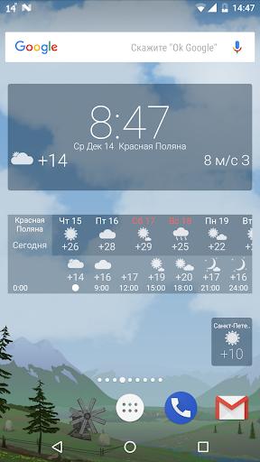 Точная погода YoWindow скриншот 5