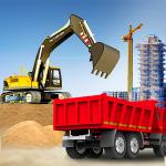 Город строительство тренаж грузоподъемник грузовик