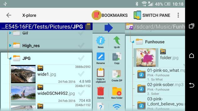 X-plore File Manager скриншот 1