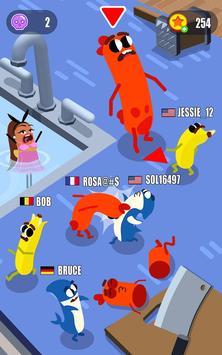 Sausage Wars.io скриншот 1