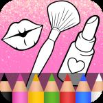 Окраска косметики для девочек