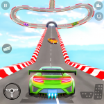 Police Limo Car Stunts GT Racing: Ramp Car Stunt