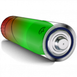 3D AA Battery Widget