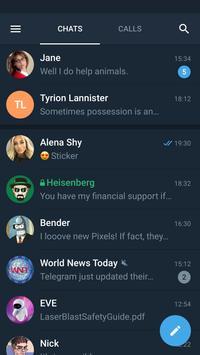 Telegram X скриншот 1
