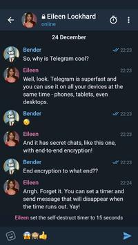 Telegram X скриншот 3