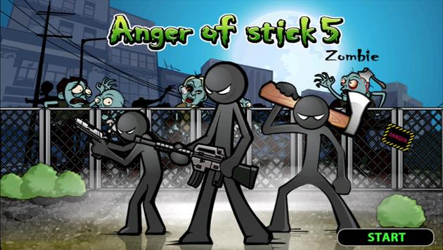 Anger of stick 5: zombie скриншот 1