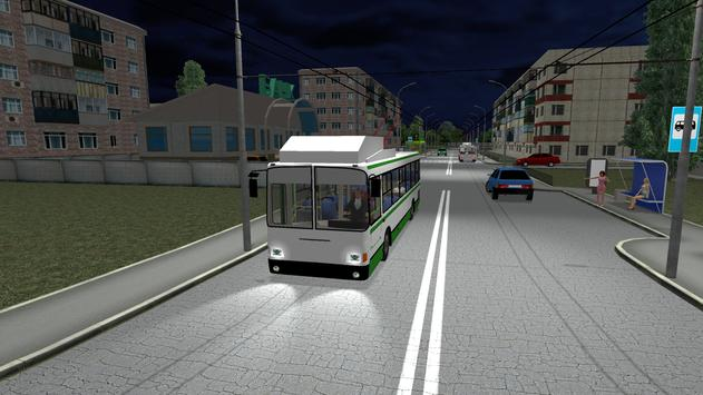 Симулятор троллейбуса 3D 2018 скриншот 4