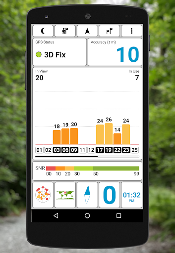 GPS Test скриншот 1