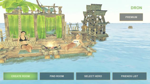 Raft Survival: Multiplayer скриншот 1