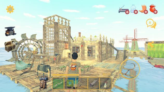 Raft Survival: Multiplayer скриншот 2