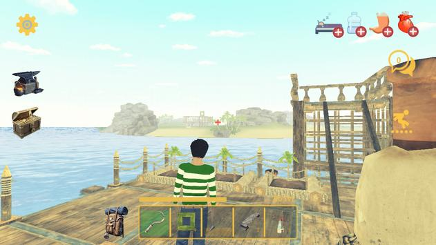 Raft Survival: Multiplayer скриншот 3