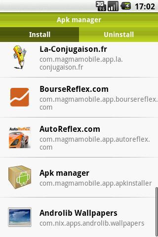 Apk Manager скриншот 1