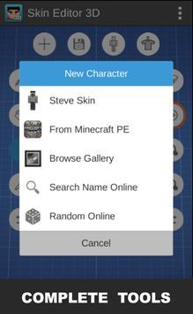 Skin Editor 3D скриншот 3
